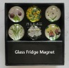 crystal glass fridge magnet sticker