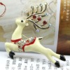 Design fashion alloy crystal gifts Christmas jewelry deer brooch