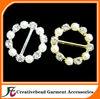 diamante pearl buckle
