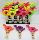 low price Whistle Snail Candy Toy rocking snail toys