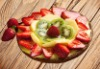 3D fruit design plastic placemat and cup coaster