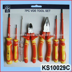 7PC VDE TOOL SET