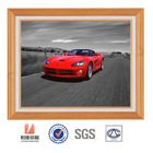 New hot Morden Art 3D lenticular car photo with PVC frame