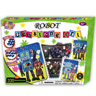 robot gemstone art/craft kits/JCW 0041