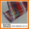 yarn dyed 100% cotton fabric for shirts