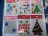 Christmas tree Decoration jelly sticker