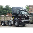 Howo Tractor Truck Optional Color 266-450hp Best Market Price