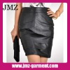 2012 1 piece women casual fashion dress/leather dress manufacture