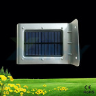 outdoor solar power led wall lamp