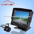 3.5 inch 2 ways video inputs car rear view system