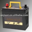 maintenance free car battery(JIS standard) 12v40ah