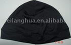 swimming cap in black color