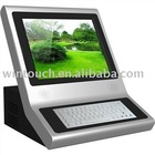 desktop touch screen kiosk Win-KT19I