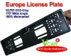 European license plate frame Reverse Rearview back-up CCD Car Camera