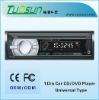 Single Din Car CD Player with USB/SD/MMC Card Slot