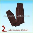 Mercerized cotton mens dress socks