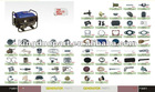 all kinds of GENERATOR SPARE PARTS for ET2700/166 gasoline generator use