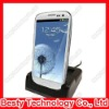 2012 New Hot USB Sync Dual Cradle Desktop Dock Charger for Samsung Galaxy S3 for i9300