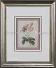 Classic Pink Rose Painting For Decoration With High Quality Frame And 8mm Crystal Painting
