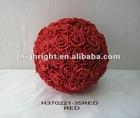 decorative artificial wedding rose ball