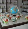 Chinese inner painting crystal ball