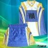 dye sublimation netball dress/skirt/uniform custom