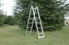 multi-purpose aluminium ladder with EN131 certificate