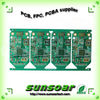 Shenzhen FR4 green solder mask PCB board for electronics