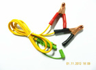 (KCC-001) clip cables with gold finger SPT-2 18AWG battery clip cable for Solar panel, solar kit cable