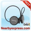 Hot!!! Black Stereo Sport Bluetooth Headset for Cellphone