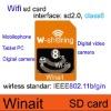 Winait's new design wifi sd card 8GB,hot sells
