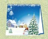 marry christmas table calender for 2012