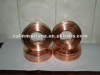 copper coated flat stitching wire for carton