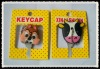 logo customized of 3d promotional rubber key covers
