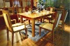 Bamboo Furniture Dinning Table with 6-8 Chair