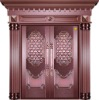 pure copper door