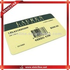 Fashion paper customized barcode labels for t-shirts,shorts,pans,other garments