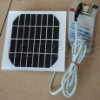 Small-scale solar power generation system (Plug and Play, available lighting and mobile phone charging)