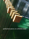 high quality toughened (hardened & satety) glass 4mm-19mm with ISO9001