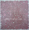 Wall&Floor glass mixed marble mosaic pattern