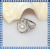 freshwater pearl ring designs for girls