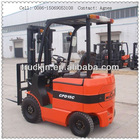 1500kg Electric Forklift with 500mm Load Center 2 Stage and Full Free Lift
