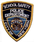 Embroidery Emblem for Police Armband