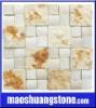 light pink mosaic pattern