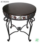 Modern metal folding table for interior decorators