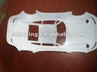 Plastic toy car cover
