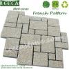 Granite french tile pattern