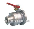 Round flange Ball valve