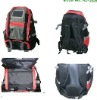 1800mAh/3000mAh solar charger bag for iphone blackberry, solar backpack bag KL-P01
