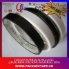 Nylon reinforced tape with rubber glue in black or white color for leather industrial NT-160